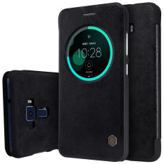 Buy Nillkin Qin Sleep Flip Leather With Smart View Window Hard Plastic Back Cover Phone Case For Asus Zenfone 3 Ze552Kl On China