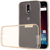 Purchase Nillkin Ultrathin Crashproof Soft Tpu Bumper Case Cover For Moto G4 Plus Transparent Brown Intl Online