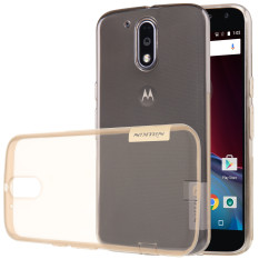 Price Nillkin Ultrathin Crashproof Soft Tpu Bumper Case Cover For Moto G4 Plus Transparent Brown Intl Nillkin New