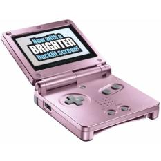 Recent Nintendo Gameboy Advance Sp With Brighter Backlit Ags 101 Screen Pink Brand New