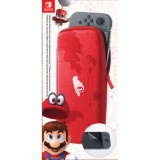 Coupon Nintendo Switch Carrying Case With Screen Protector Super Mario Odyssey Edition