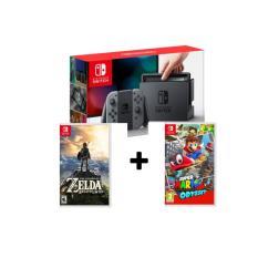 Price Comparison For Nintendo Switch Grey Super Mario Odyssey N Zelda Botw Local Set