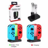 Low Price Nintendo Switch Joy Con 4 In 1 Led Charger Stand Joy Con Charging Dock Station