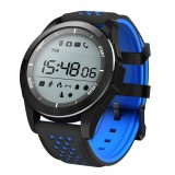 Best No 1 F3 Sports Smartwatch Bluetooth 4 Ip68 Waterproof Remote Camera Sedentary Reminder Sleep Monitor Pedometer Intl