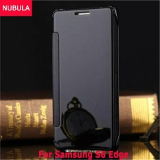 Price Nubula New Fashion 360 Degree Luxury Mirror Clamshell Hard Shell Flip Wallet Case For Samsung Galaxy S6 Edge Soft Leather Flip Wallet Smart View Mirror Clear View Full Cover Case Intl Online China