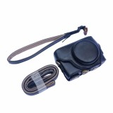 Sale Oem Camera Case For Sony Rx100 Removable Pu Leather Cover With Tripod Scr*W Belt Loop Hand And Shoulder Strap Black Color Online On China