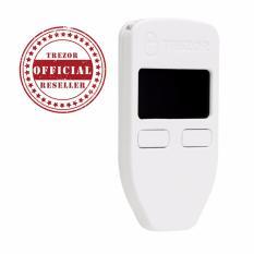 Official Reseller Trezor One Bitcoin Hardware Wallet White Shopping