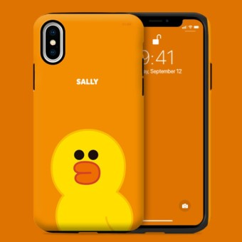 Sale Officially Licensed Product Iphone X Line Friends Guardup Dual Layer Pc Silicone Case Intl Line Friends Original