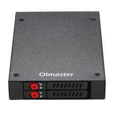 Coupon Oimaster 6 Bays Mobile Rack Backplane Support 2 5 Sata Hdd Ssd Hard Drive With Cooling Fan Locker Hot Swap 6Gbps Transmission For Pc 5 25 Drive Bay Intl