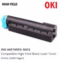 Buy Oki 44574903 B431 High Yield Compatible Black Laser Toner Prints 10 000 Pages Cheap Singapore