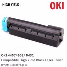 List Price Oki 44574903 B431 High Yield Compatible Black Laser Toner Prints 10 000 Pages Oki