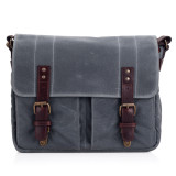 Ona The Prince Street Camera And Tablet Messenger Bag Smoke On Singapore