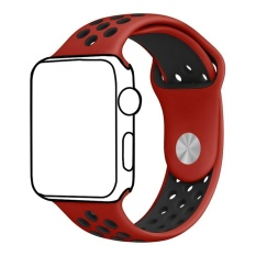 Sale Ontube For Apple Watch Band Nike Series 3 2 1 Soft Silicone Sport Bracelet Replacement Strap For Iwatch Band S M Size 38Mm Intl Online On China