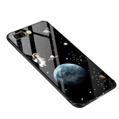 How To Get Oppo R11 Case Ruilean Hybrid Shock Absorb Tpu Bumper Frame Tempered Glass Back Cover Slim Case For Oppo R11 Night Wolf