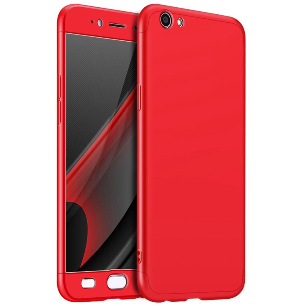 Compare Oppo R9S Plus Case Mooncase Frosted Armor Hard Pc Back Cover 360 Full Body Shockproof Protective With 3 Detachable Parts Phone Case As Shown Intl Prices