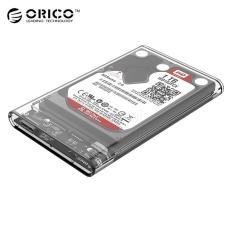 Orico 2139U3 External 2 5 Hard Disk Drive Ssd Enclosure Case Usb 3 Transparent For Sale