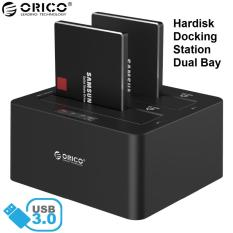Orico 6629Us3 Hard Disk Drive Docking Station Dual Bay Slot Ssd Hdd Sata Usb 3 In Stock
