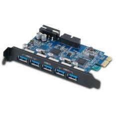 Price Orico Pvu3 5O2I Usb 3 Pci Express Card 7 Ports 5Gbps Usb Hub Controller Blue Intl Oem