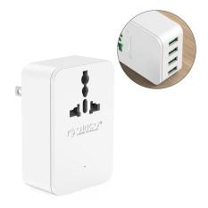ORICO S4U 20W Universal Power Plug Travel Converting Adapter with 4 USB Charging Ports AU - intl