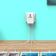 ORICO S4U 20W Universal Power Plug Travel Converting Adapter with 4 USB Charging Ports US - intl