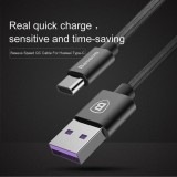 Brand New Original Baseus Speed Type C Type C Data Usb Cable Port Quick Charger 5A 100Cm Intl