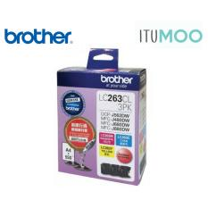 Buy Original Brother Lc263 Mfc J480Dw 680Dw 880Dw Ink Cartridge 3 Colors Value Pack 550 Pages Singapore