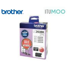 Original Brother Lc263 Mfc J480Dw 680Dw 880Dw Ink Cartridge Twin Pack Black 550 Pages Coupon