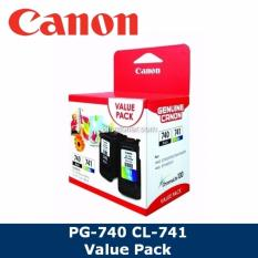 Original Canon Pg 740 Cl 741 Value Pack Ink Cartridge For Pixma Mg2170 Mg2270 Mg3170 Mx377 Mx397 Mx437 Mx457 Mx 477 E500 Pg740 Pg 740 Cl741 Cl 741 Review