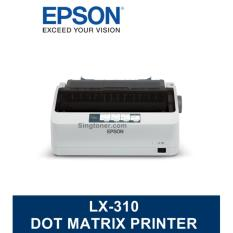Buy Singapore Warranty Epson Lx 310 Lx310 Lx 310 Dot Matrix Printer Epson Original
