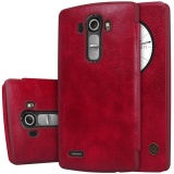 Price Compare Original Flip Cover For Lg G4 Nillkin 360 Degree Protection Qin Sparkle Pu Leather Case With Smart Sleep Wake Function Intl