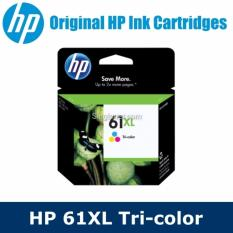 Review Original Hp 61Xl Tri Color Ink Cartridge For Hp Deskjet Officejet Envy Printer Hp61Xl 61 Xl Hp On Singapore