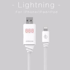 Original Joyroom Intelligent Digital Display Screen Micro USB Data Cable Lightning 8 Pin cable For Apple