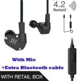Buy Cheap Original Kz Zs6 Earbuds 2Dd 2Ba Hybrid Earphone Hifi In Ear Metal Headphone Dj Monitor Headset Earphones With Mcrophone Blueteeth Cable For Phone Pk Zs5 Zst Intl
