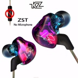 Cheapest Original Kz Zst Armature Dual Driver Earphone Detachable Cable In Ear Audio Monitors Noise Isolating Hifi Music Sports Earbuds Intl