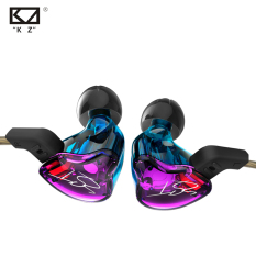 Best Buy Original Kz Zst Colour Balanced Armature Dynamic Hybrid Dual Driver Earphones Hifi Earbuds Bass Headset In Ear Earphones With Microphone Intl