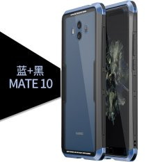 Where Can You Buy Original Luphie Fashion 3 In 1 Toughed Tempered Glass Back Case Aluminum Metal Bumper Cover For Huawei Mate 10 Intl
