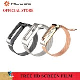 Price Original Mijobs Magnet Attraction Wristband Miband 2 Metal Stainless Steel Strap Replacement Bracelet Smart Accessories Intl Mijobs Online