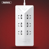 Buy Original Remax Ru S4 Intelligent 4 2A Electrical Power Strip Socket With 6 Outlets Plug 5 Usb Port Charging Socket Adapter Intl Remax