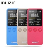 Original Speaker Ruizu X08 1 8 8Gb Mp3 Mp4 Player Slim Video Radio Fm Players For 64Gb Micro Sd Tf Card Music Playing Times 200 Hours Intl Coupon Code