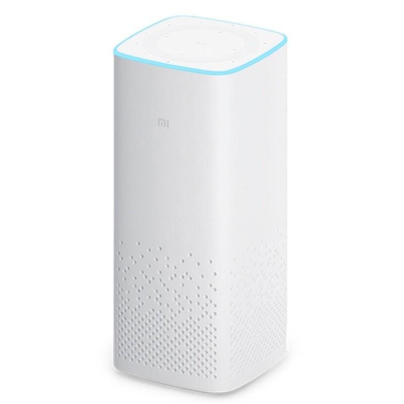 Original Xiaomi Mi AI Portable Bluetooth V4.1 Speaker - White - intl Singapore