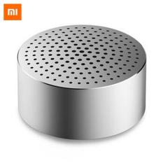 Review Original Xiaomi Mi Bluetooth V4 Portable Speaker Silver Intl China