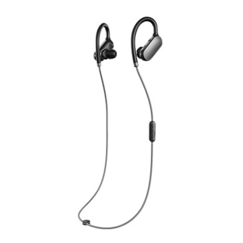 Original Xiaomi Mi Sports Bluetooth Headset Xiaomi Wireless Bluetooth 4.1 Music Sport Earbud In-ear Earphone IPX4 Waterproof & Sweatproof Long Standby Time with Mic Black - intl Singapore