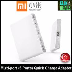ORIGINAL Xiaomi Multi-port (5 Ports) Quick Charge Adapter (EXPORT SET) / 2 months Seller Warranty