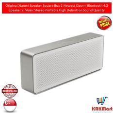 Price Original Xiaomi Speaker Square Box 2 Newest Xiaomi Bluetooth 4 2 Speaker 2 Music Stereo Portable High Definition Sound Quality Xiaomi New