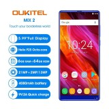 Cheapest Oukitel Mix 2 5 99 Inches 18 9 Full Screen P25 Mobile Phone 4G Lte 6Gb Ram 64Gb Rom Online