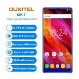 Sale Oukitel Mix 2 5 99 Inches 18 9 Full Screen P25 Mobile Phone 4G Lte 6Gb Ram 64Gb Rom Intl