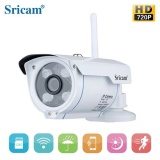 Low Price Outdoor Ip Camera Sricam 720P Hd Waterproof Security Camera System Wireless Surveillance Cctv Bullet With Night Vision Remote Control Surveillance System With Free 32G Tf Card Intl