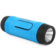 Outdoor Sport Bicycle Portable Rechargeable Bluetooth Speaker With Led Light Intl Shop