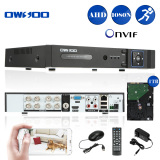 Owsoo 8Ch Channel Full 1080N 960 1080 Ahd Dvr Hvr Nvr H 264 Hdmi P2P Cloud Network Onvif Digital Video Recorder 1Tb Hard Drive For Sale