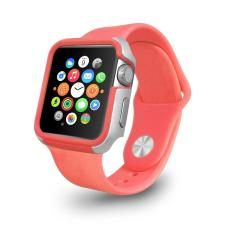Ozaki Anti Shock Edge Protection Bumper Case For Apple Watch 38Mm Black White In Stock
